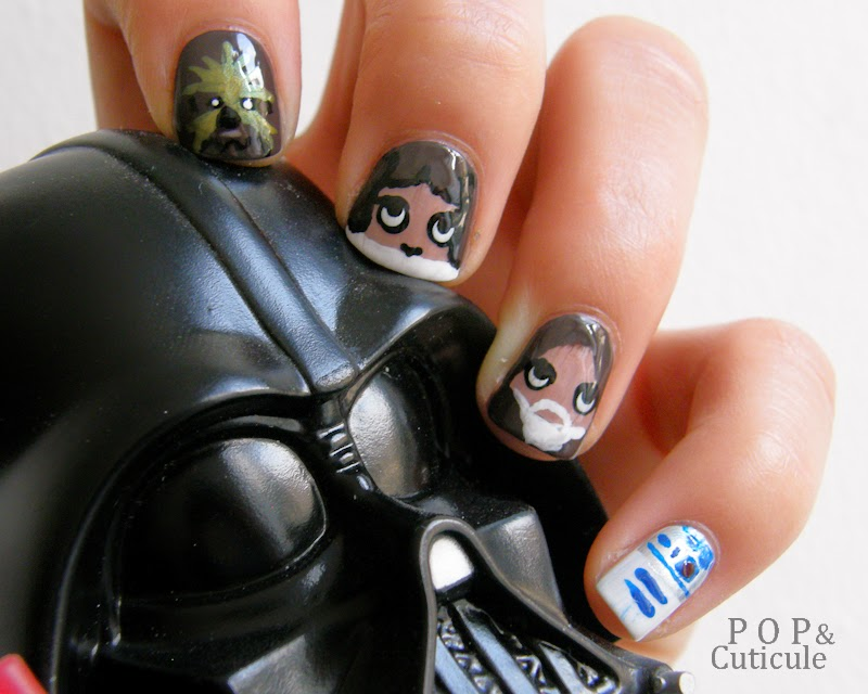 Pop & Cuticule Manucure Nail art Star Wars