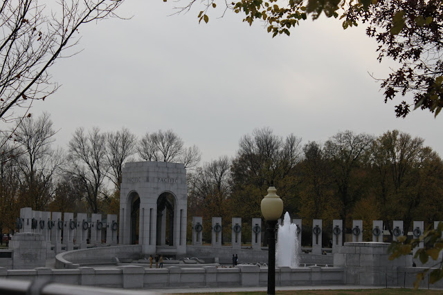 National World War II Memorial in Washington DC, USA