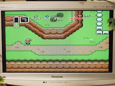 ゲームの世界(例:ゼルダの伝説 神々のトライフォース)
