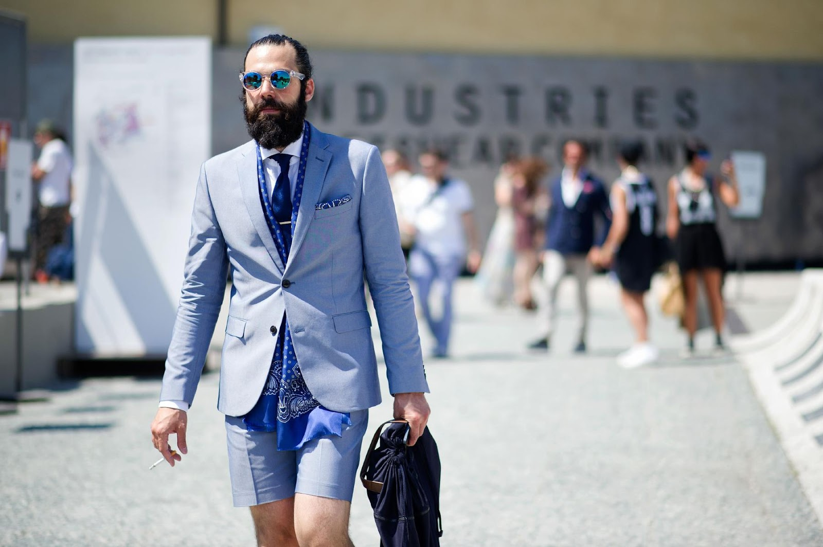 Mike Kagee Fashion Blog Street Style Swagger At The Pitti Uomo Show In Florence Italy June 2013