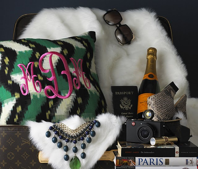 ashlina x luxury monograms