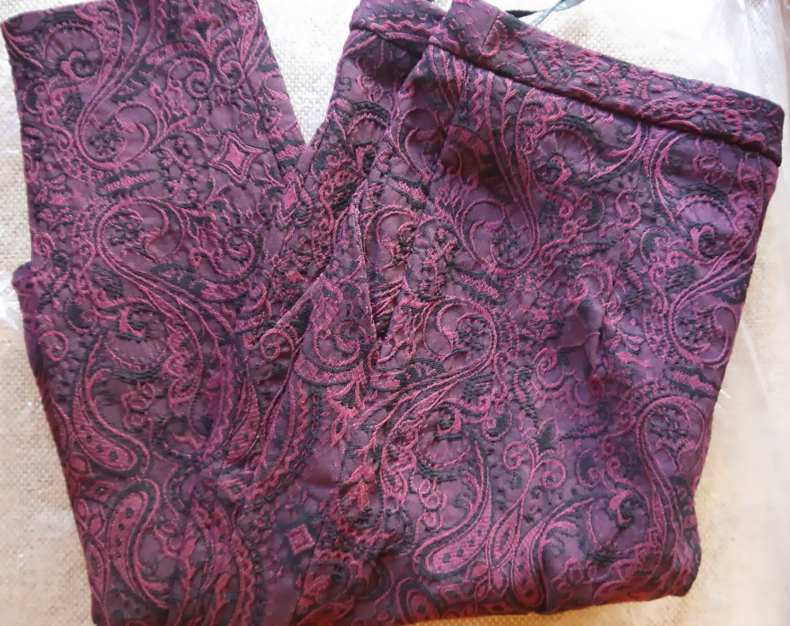 Paisley Print Trousers from Primark
