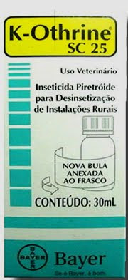 Anti Pulgas K Othrine SC 25 feito pela Bayer