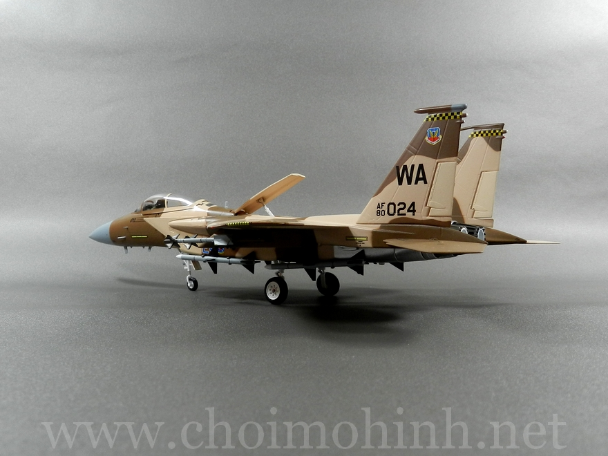 F-15C Eagle Aggressor USAF 1:72 Witty Wings back