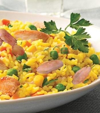 كوجينة تونسية : أرز أزعر
