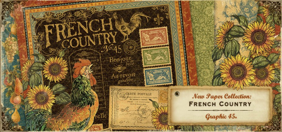 Of Photos Paper Graphic 45 39 S New French Country Collection