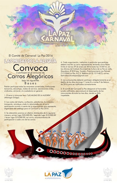 convocatoria carros alegoricos carnaval la paz 2016