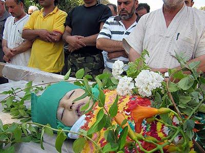 Child victims of Aleppo, Syria