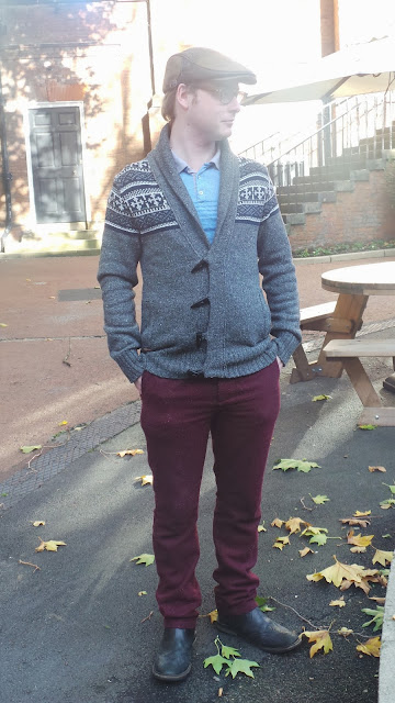 Autumn Outfit of the Day Cardigan