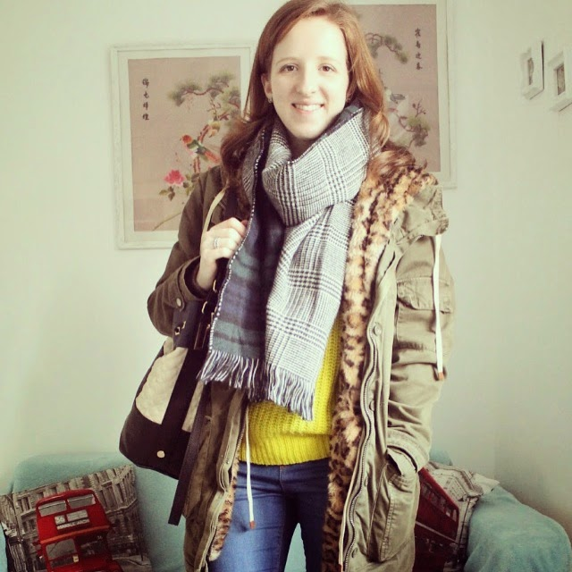 OOTD: Lime Green Jumper and My Favourite Jeans