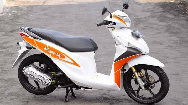 Modifikasi Honda Spacy