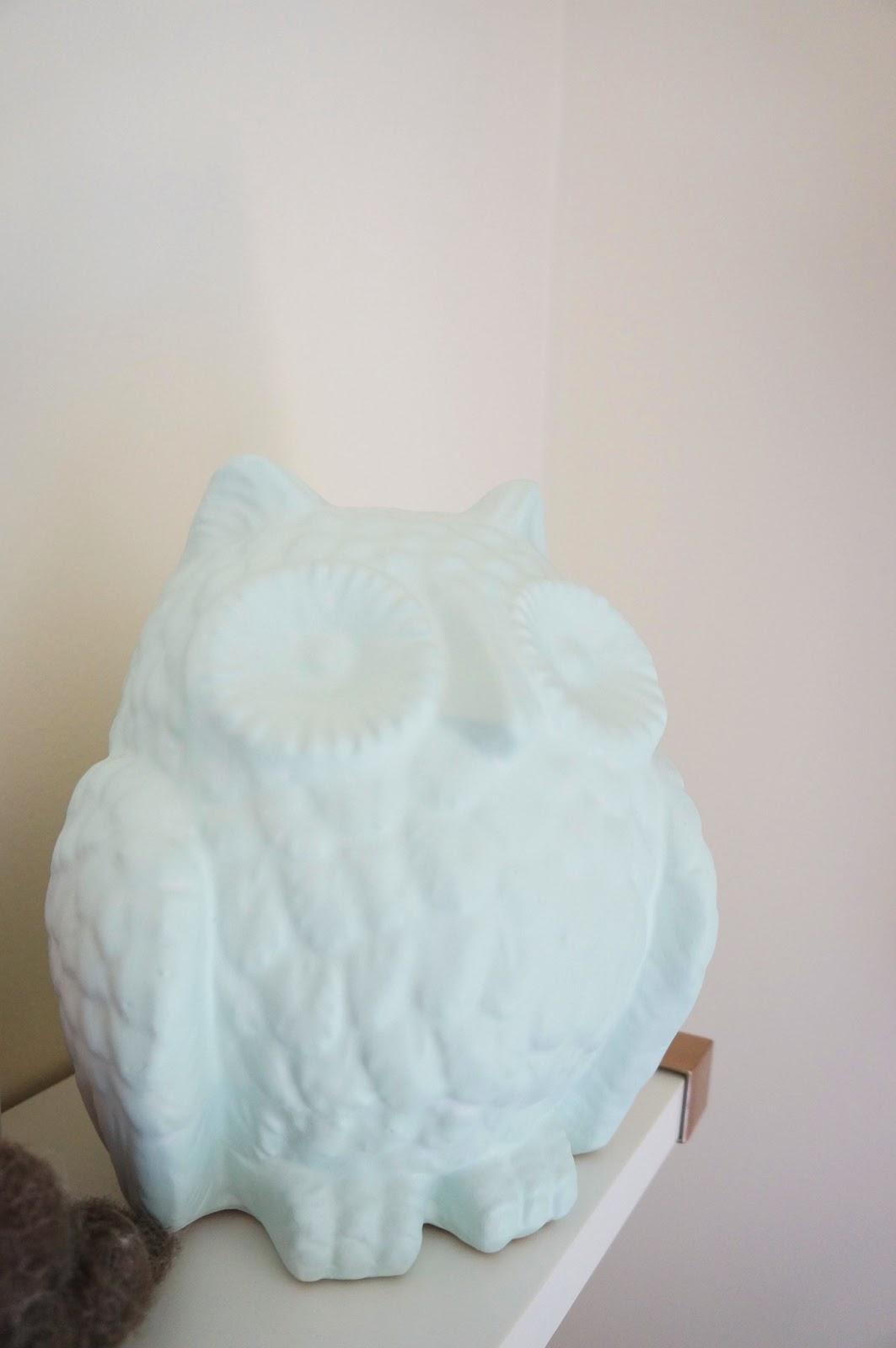 Baby Boy Green Nursery Owl