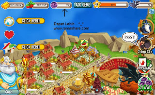 Cheat Gems Dragon City WORK