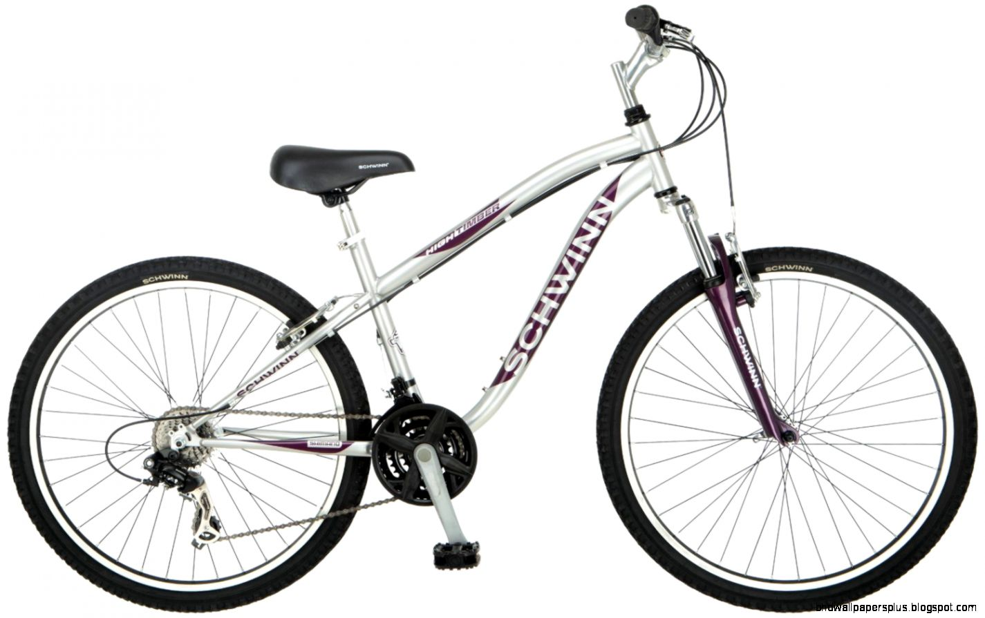 Silver Womens Small High Timber Mountain Bike by Schwinn