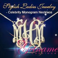 Monogram Necklace From Getnamenecklace.com