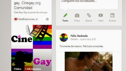 Cinegay Google+
