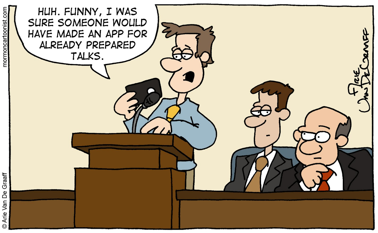 mormon cartoonist september 2011