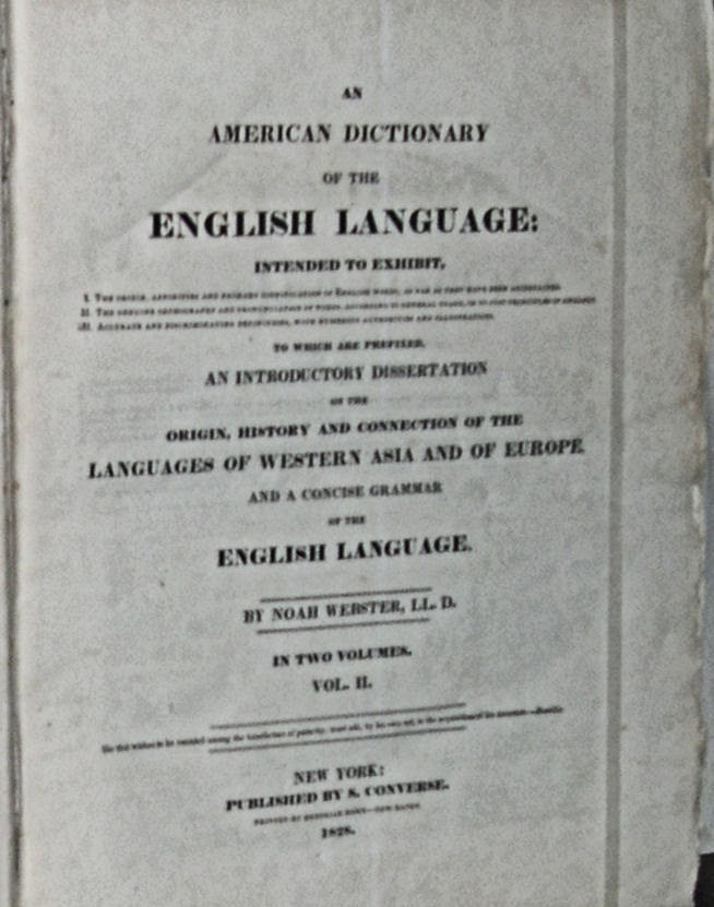 Dictionary of th...1828 Websters Dictionary Online