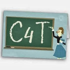 a chalkvoard with C4T written on it