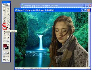 Photoshop Blur Tool Ile Birle  Im Yerlerine Hafif  E Blur Uyguluyoruz