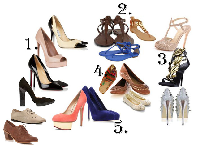 Every girl must own these five pairs