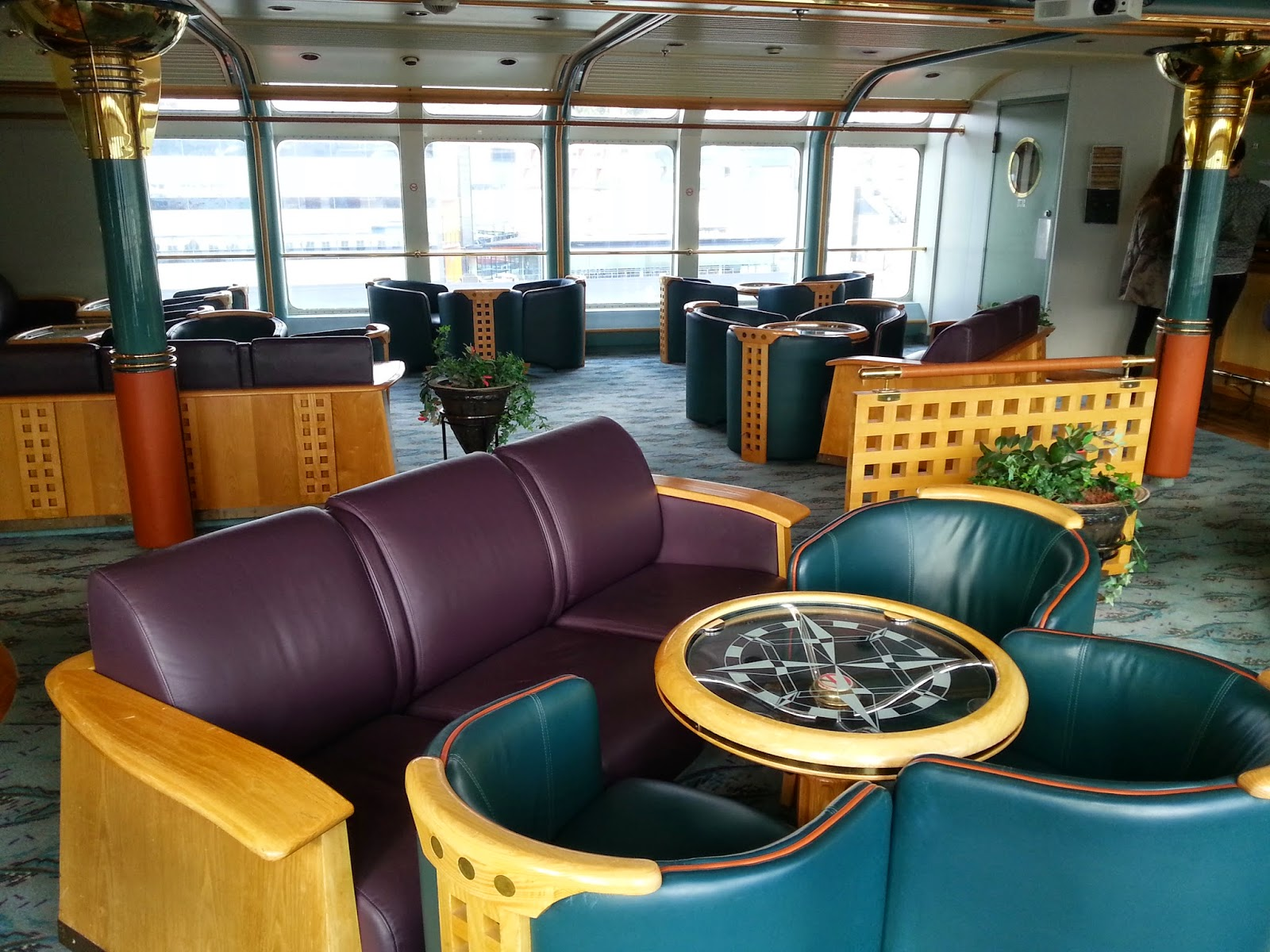 Hurtigruten MS Nordkapp - Svalbard Lounge