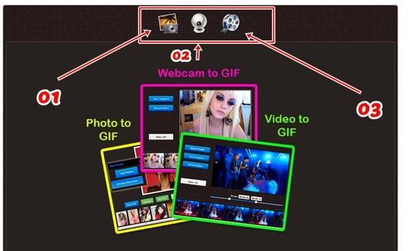 Criar gif animado com fotos online