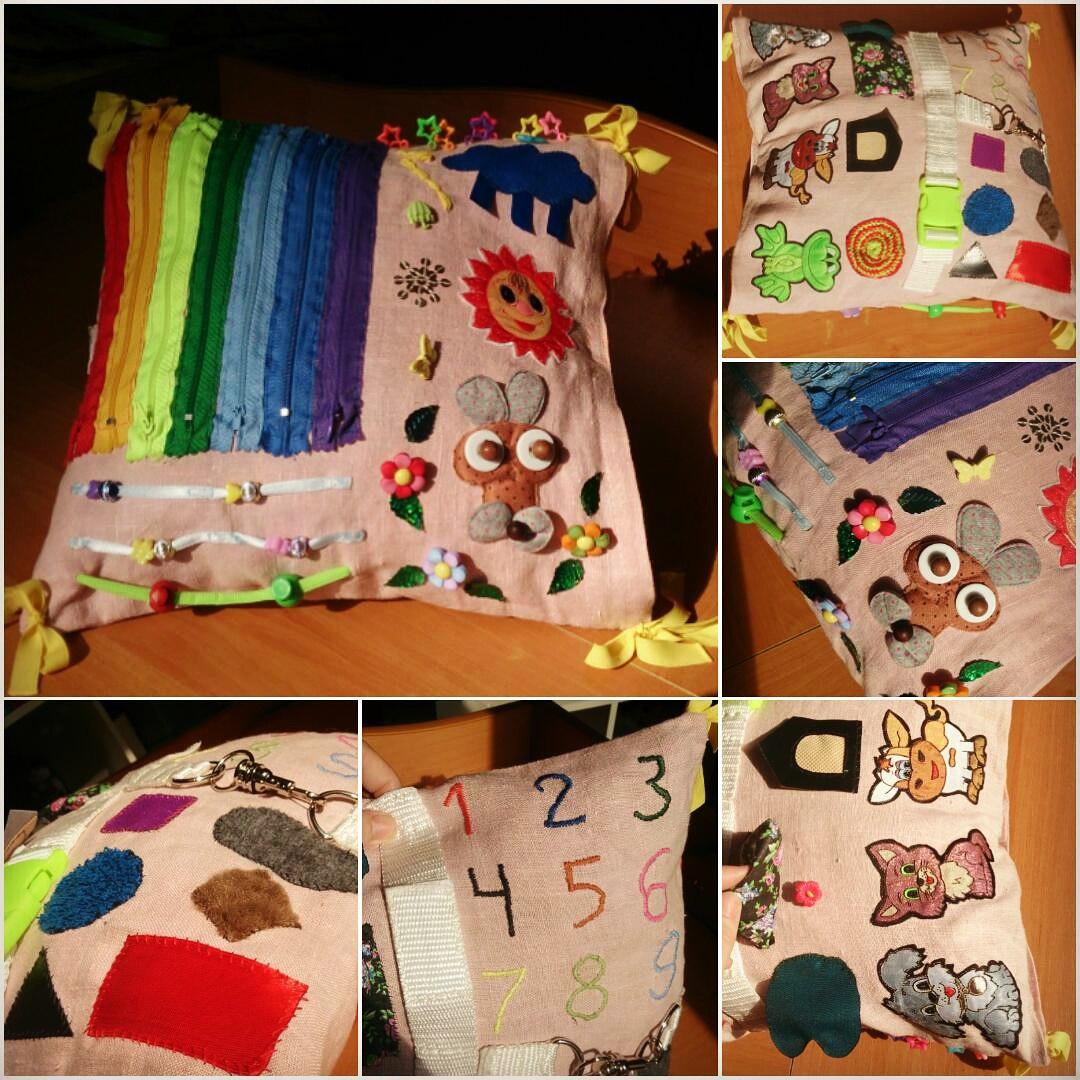 Подушки из фото детей