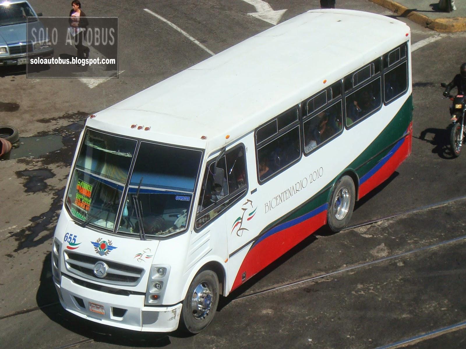 Soloautobus san pedro santa clara operbus contemporaneo for Mercedes benz san pedro