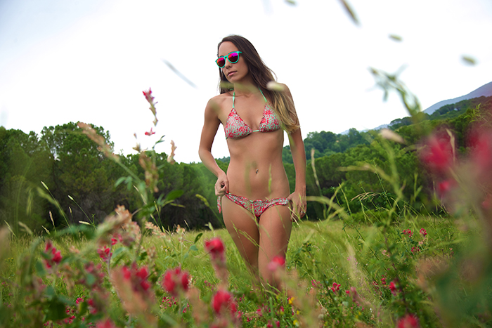 romantic bikini
