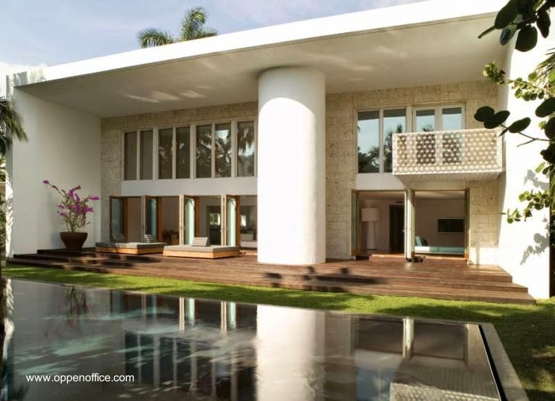 Fondos de la villa de Miami