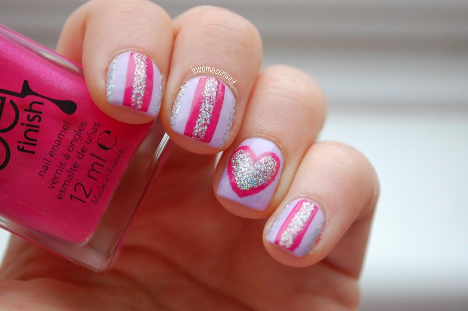 Valentines Nail Art