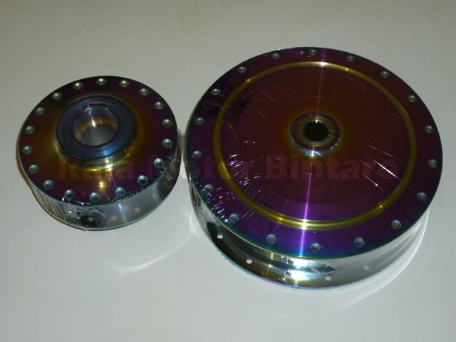 Modifikasi Jupiter Mx New Velg Jari Jari