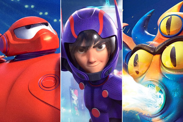Gambar Big Hero 6 Marvel Walt Disney Animasi Lucu Terbaru