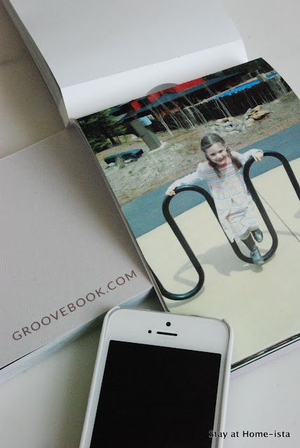 using groovebook to get my phone photos printed and sent to me