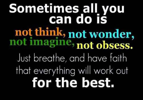 everything will work out for the best inspirational