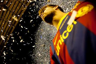 Barcelona'nın geçtiğimiz ağustosta İspanya Süper Kupasında Real Madrid'i devirdiği maçtan bir enstantane. Fotograf: lainformacion.com
