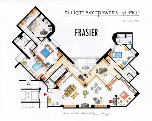10-Frasier-Dr-Frasier-Crane-Apartment-Floor-Plan-Inaki-Aliste-Lizarralde