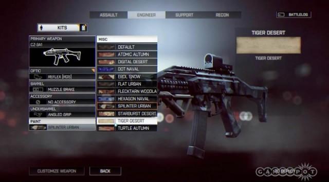 Battlefield 4 - Tudo Sobre Customização de Arma e de Soldado Battlefield-4-menu-options-13-640x355