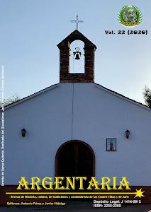 Argentaria vol. 22 (2020)