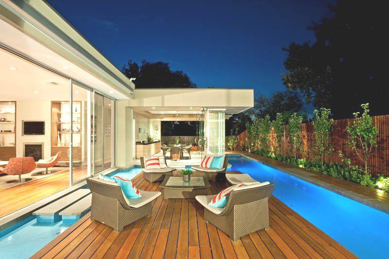 Casa canterbury canny arquitectura melbourne australia - Piscinas en terrazas de casas ...