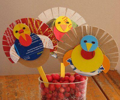 Home Christmas Decoration 10 Thanksgiving Kids Craft