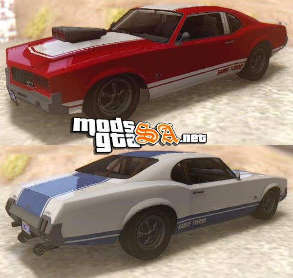 SA - Declasse Sabre GT Turbo do GTA V