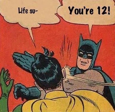 comic life sucks batman