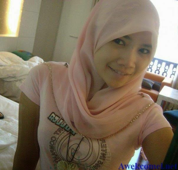 galery foto cewek pabrik tudung jilbab cute sexy dormitory muka kuning batam.
