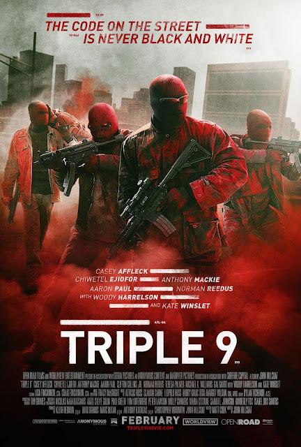 Tráiler para adultos y póster de 'Triple 9', con Woody Harrelson y Kate Winslet