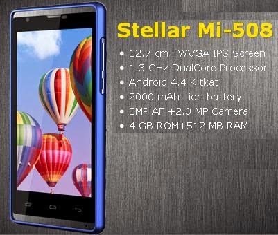 Spice Stellar Mi-508 price images