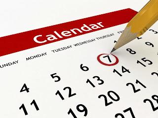 Calendar | Blog 121 Conversation