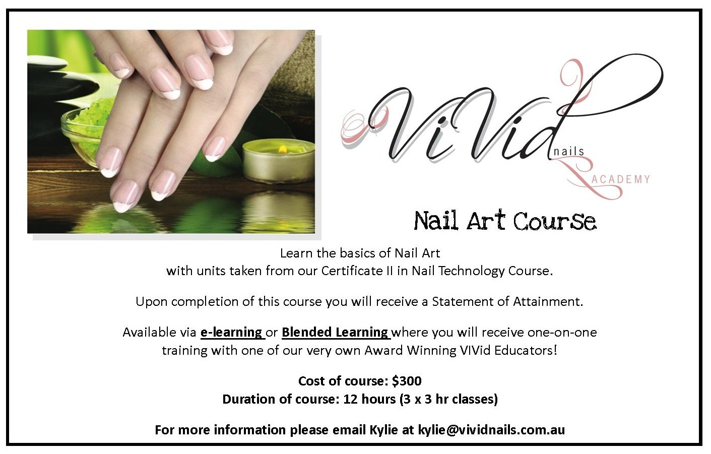 VIVid Nails - Academy: Nail Art Course...