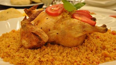 Bulgurlu Tavuk Dolması